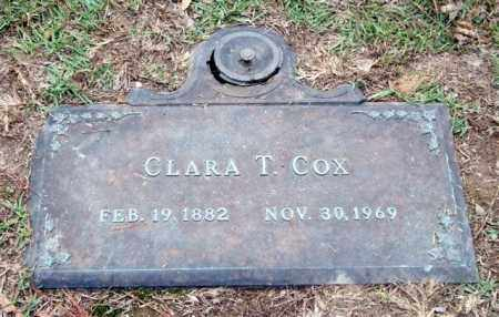 COX, CLARA T. - Saline County, Arkansas | CLARA T. COX - Arkansas Gravestone Photos