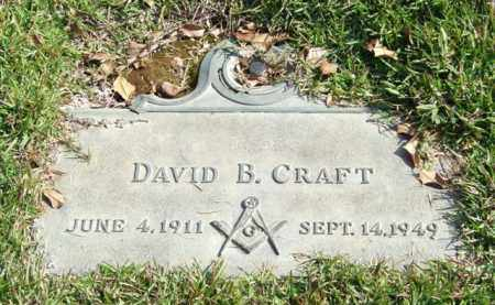 CRAFT, DAVID B. - Saline County, Arkansas | DAVID B. CRAFT - Arkansas Gravestone Photos
