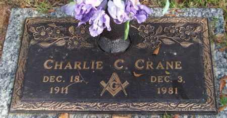 CRANE, CHARLIE C. - Saline County, Arkansas | CHARLIE C. CRANE - Arkansas Gravestone Photos