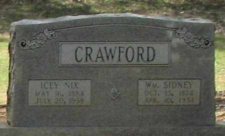 NIX CRAWFORD, ICEY - Saline County, Arkansas | ICEY NIX CRAWFORD - Arkansas Gravestone Photos