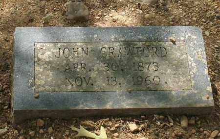 CRAWFORD, JOHN - Saline County, Arkansas | JOHN CRAWFORD - Arkansas Gravestone Photos