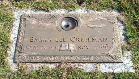 CREELMAN, EMMA LEE - Saline County, Arkansas | EMMA LEE CREELMAN - Arkansas Gravestone Photos