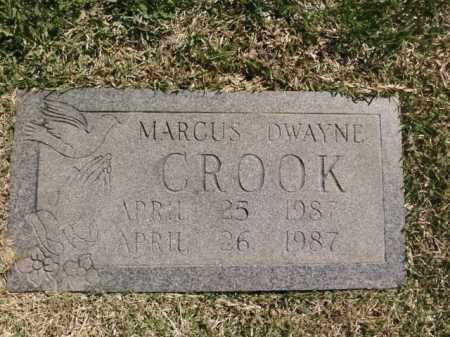 CROOK, MARCUS DWAYNE - Saline County, Arkansas | MARCUS DWAYNE CROOK - Arkansas Gravestone Photos