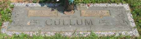 CULLUM, ELBERT R. - Saline County, Arkansas | ELBERT R. CULLUM - Arkansas Gravestone Photos