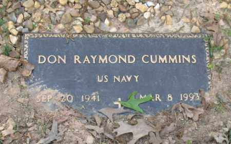 CUMMINS (VETERAN), DON RAYMOND - Saline County, Arkansas | DON RAYMOND CUMMINS (VETERAN) - Arkansas Gravestone Photos