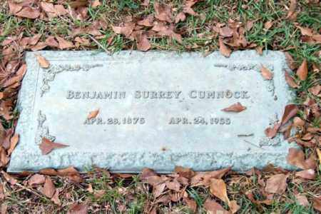 CUMNOCK, BENJAMIN SURREY - Saline County, Arkansas | BENJAMIN SURREY CUMNOCK - Arkansas Gravestone Photos