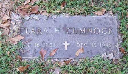 CUMNOCK, CLARA H. - Saline County, Arkansas | CLARA H. CUMNOCK - Arkansas Gravestone Photos