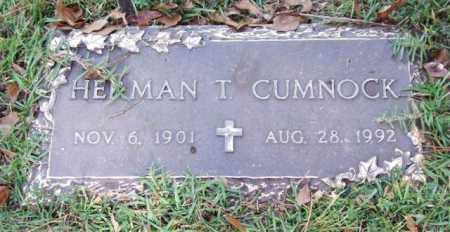 CUMNOCK, HERMAN T. - Saline County, Arkansas | HERMAN T. CUMNOCK - Arkansas Gravestone Photos