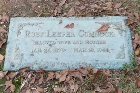 LEEPER CUMNOCK, RUBY - Saline County, Arkansas | RUBY LEEPER CUMNOCK - Arkansas Gravestone Photos