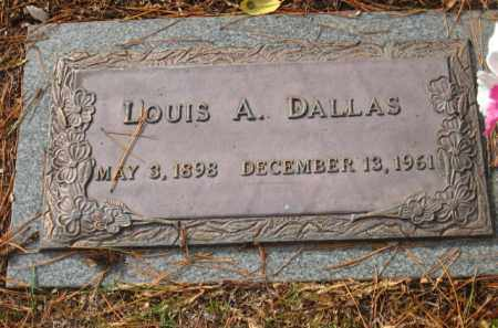 DALLAS, LOUIS A. - Saline County, Arkansas | LOUIS A. DALLAS - Arkansas Gravestone Photos