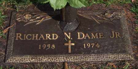 DAME, JR., RICHARD N. - Saline County, Arkansas | RICHARD N. DAME, JR. - Arkansas Gravestone Photos