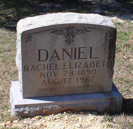 DANIEL, RACHEL ELIZABETH - Saline County, Arkansas | RACHEL ELIZABETH DANIEL - Arkansas Gravestone Photos