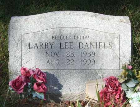 DANIELS, LARRY LEE - Saline County, Arkansas | LARRY LEE DANIELS - Arkansas Gravestone Photos