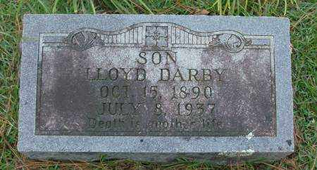 DARBY, LLOYD - Saline County, Arkansas | LLOYD DARBY - Arkansas Gravestone Photos