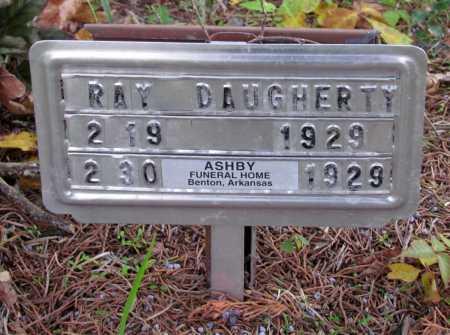 DAUGHERTY, RAY - Saline County, Arkansas | RAY DAUGHERTY - Arkansas Gravestone Photos