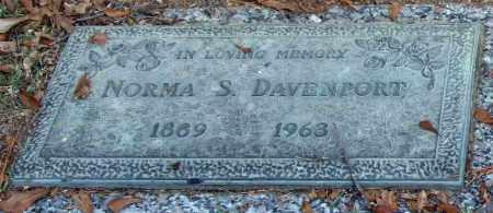 DAVENPORT, NORMA S. - Saline County, Arkansas | NORMA S. DAVENPORT - Arkansas Gravestone Photos