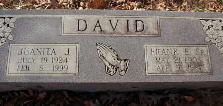 DAVID, JUANITA J. - Saline County, Arkansas | JUANITA J. DAVID - Arkansas Gravestone Photos