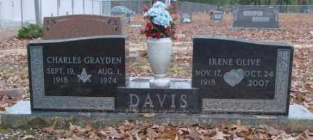 DAVIS, IRENE OLIVE - Saline County, Arkansas | IRENE OLIVE DAVIS - Arkansas Gravestone Photos