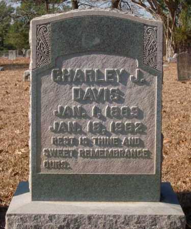 DAVIS, CHARLEY J. - Saline County, Arkansas | CHARLEY J. DAVIS - Arkansas Gravestone Photos