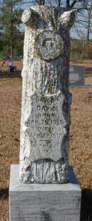 DAVIS, CLAUDE C. - Saline County, Arkansas | CLAUDE C. DAVIS - Arkansas Gravestone Photos