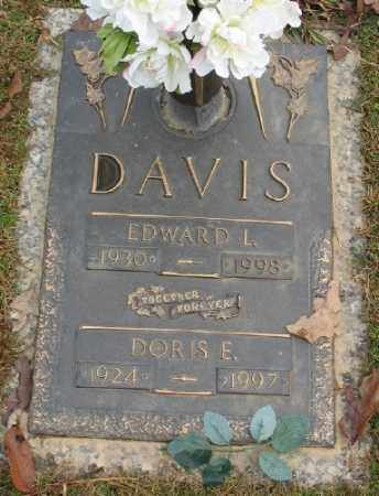 DAVIS, EDWARD L. - Saline County, Arkansas | EDWARD L. DAVIS - Arkansas Gravestone Photos