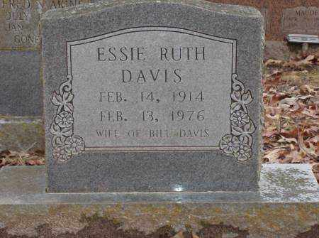 DAVIS, ESSIE RUTH - Saline County, Arkansas | ESSIE RUTH DAVIS - Arkansas Gravestone Photos