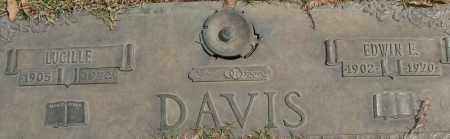 DAVIS, EDWIN L - Saline County, Arkansas | EDWIN L DAVIS - Arkansas Gravestone Photos