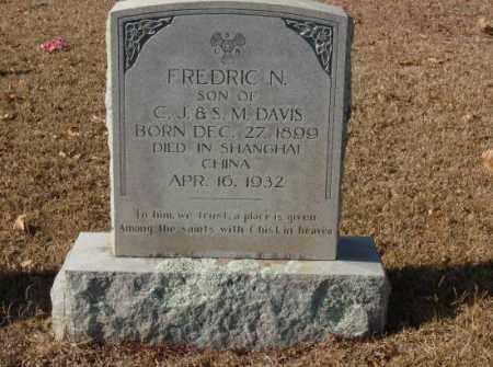 DAVIS, FREDRIC N. - Saline County, Arkansas | FREDRIC N. DAVIS - Arkansas Gravestone Photos