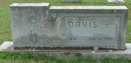 DAVIS, JEFF - Saline County, Arkansas | JEFF DAVIS - Arkansas Gravestone Photos
