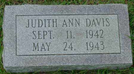 DAVIS, JUDITH ANN - Saline County, Arkansas | JUDITH ANN DAVIS - Arkansas Gravestone Photos