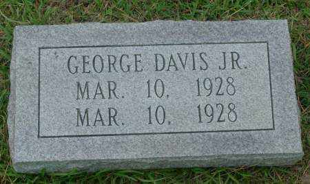 DAVIS, JR., GEORGE - Saline County, Arkansas | GEORGE DAVIS, JR. - Arkansas Gravestone Photos