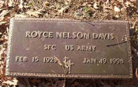 DAVIS (VETERAN), ROYCE NELSON - Saline County, Arkansas | ROYCE NELSON DAVIS (VETERAN) - Arkansas Gravestone Photos
