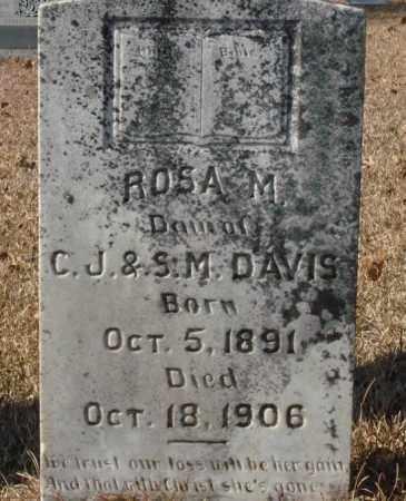 DAVIS, ROSA M. - Saline County, Arkansas | ROSA M. DAVIS - Arkansas Gravestone Photos