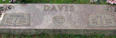 DAVIS, INA - Saline County, Arkansas | INA DAVIS - Arkansas Gravestone Photos