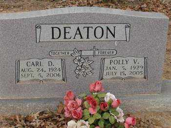 DEATON, POLLY V. - Saline County, Arkansas | POLLY V. DEATON - Arkansas Gravestone Photos