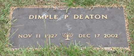 DEATON, DIMPLE P. - Saline County, Arkansas | DIMPLE P. DEATON - Arkansas Gravestone Photos