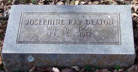 RAY DEATON, JOSEPHINE - Saline County, Arkansas | JOSEPHINE RAY DEATON - Arkansas Gravestone Photos