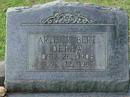DEPEW, ARTHUR BERT - Saline County, Arkansas | ARTHUR BERT DEPEW - Arkansas Gravestone Photos