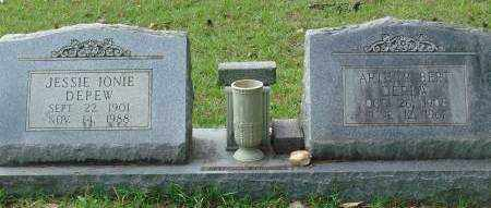 DEPEW, JESSIE - Saline County, Arkansas | JESSIE DEPEW - Arkansas Gravestone Photos