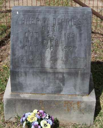 DEPRIEST, ABNER W - Saline County, Arkansas | ABNER W DEPRIEST - Arkansas Gravestone Photos