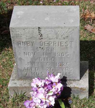TILLERY DEPRIEST, RUBY - Saline County, Arkansas | RUBY TILLERY DEPRIEST - Arkansas Gravestone Photos