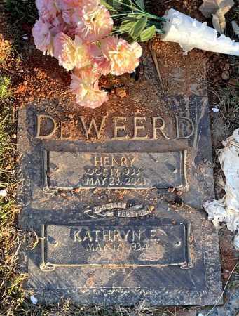 DEWEERD, HENRY - Saline County, Arkansas | HENRY DEWEERD - Arkansas Gravestone Photos