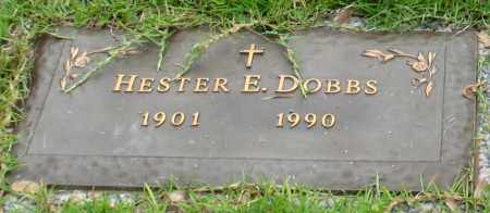 DOBBS, HESTER E. - Saline County, Arkansas | HESTER E. DOBBS - Arkansas Gravestone Photos