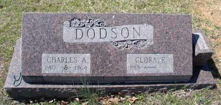 DODSON, CHARLES A. - Saline County, Arkansas | CHARLES A. DODSON - Arkansas Gravestone Photos