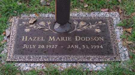 NIX DODSON, HAZEL MARIE - Saline County, Arkansas | HAZEL MARIE NIX DODSON - Arkansas Gravestone Photos