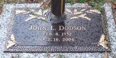 DODSON, JOHN L. - Saline County, Arkansas | JOHN L. DODSON - Arkansas Gravestone Photos