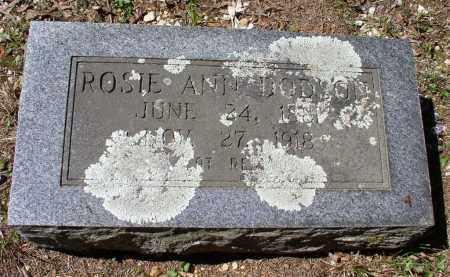 BURKS DODSON, ROSIE ANN - Saline County, Arkansas | ROSIE ANN BURKS DODSON - Arkansas Gravestone Photos