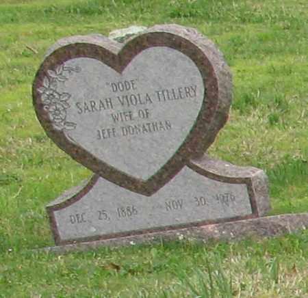 "DONATHAN, SARAH VIOLA ""DODE"" - Saline County, Arkansas | SARAH VIOLA ""DODE"" DONATHAN - Arkansas Gravestone Photos"