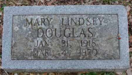LINDSEY DOUGLAS, MARY - Saline County, Arkansas | MARY LINDSEY DOUGLAS - Arkansas Gravestone Photos