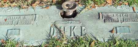 DUKE, LILLIAN B. - Saline County, Arkansas | LILLIAN B. DUKE - Arkansas Gravestone Photos